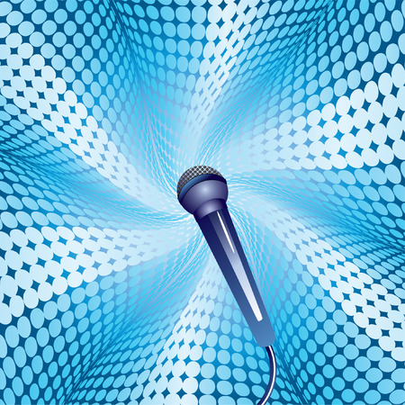 Microphone. Vector