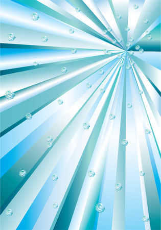 Abstraction rays. Vector
