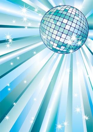 Disco ball. Stock Vector - 7016727