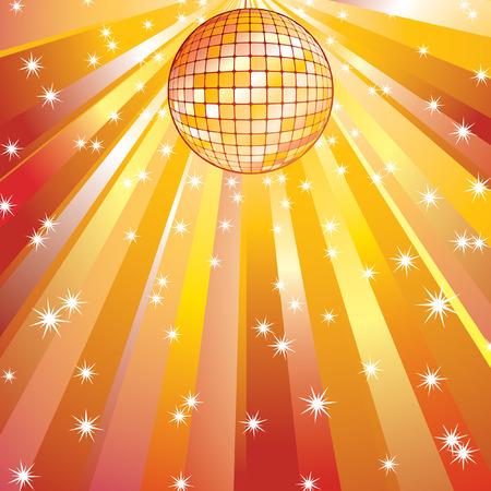 Disco ball. Vector