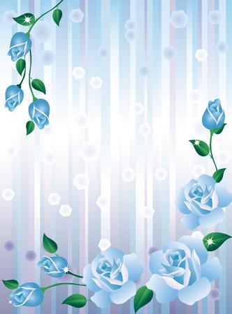 achtergrond met rozen.