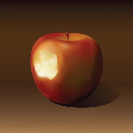 Apple. Stock Vector - 7281452