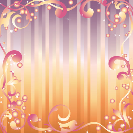 Abstract frame. Vector