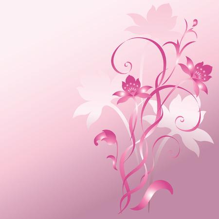 Flower ornament. Stock Vector - 7554999