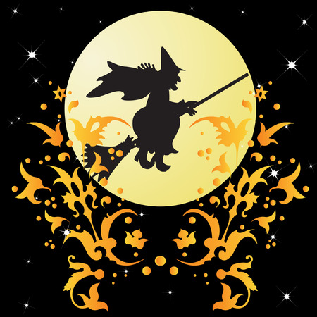 Halloween background. Stock Vector - 8008773