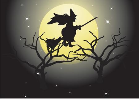 helloween: Halloween landscape.