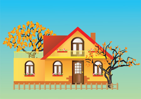 House. Vector