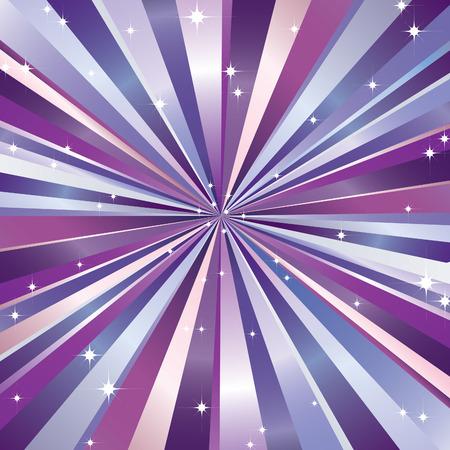 rays and stars. Ilustração