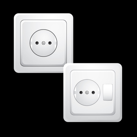 Outlet. Vector