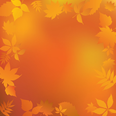 cover background time: Autumn frame.
