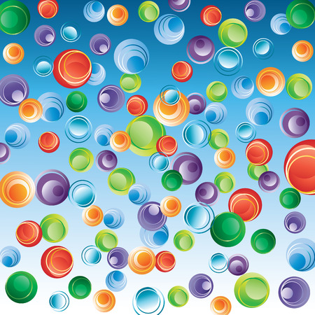 Abstract background with bubbles. Stock Vector - 8146997