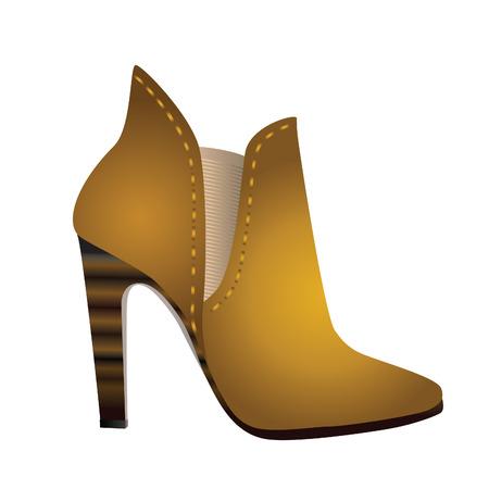 Womens shoes. Иллюстрация