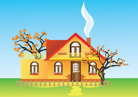 House. Stock Vector - 8147001