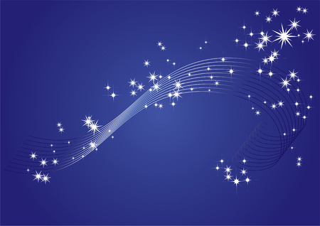 Background with stars Stock Vector - 8147054