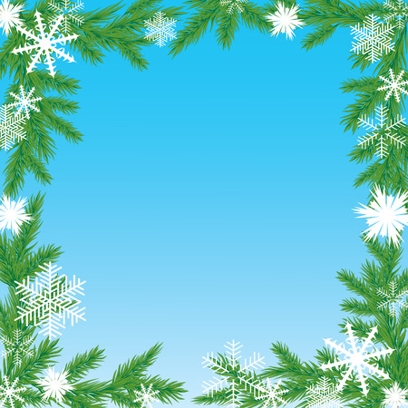 premises: Christmas frame