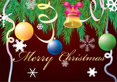 merrily: Sfondo Natale