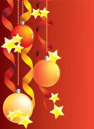merrily: Sfondo Natale. Vettoriali