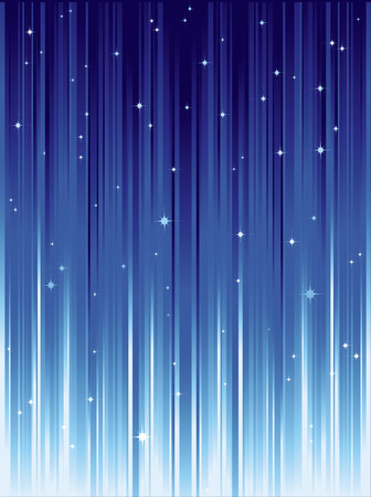 eg: Abstract background with stars and blue stripes.