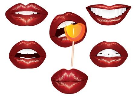 Lips Women Çizim
