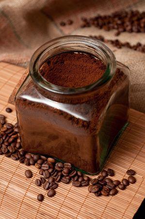 Coffee jar photo