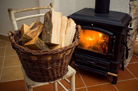 Log boeken voor een stove