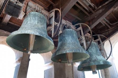 Les cloches des églises Banque d'images