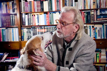 Gespräch mit einem Hund