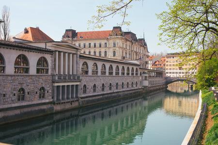 ljubljana: City of Ljubljana in Slovenia