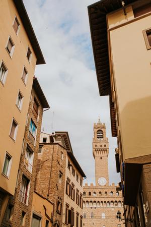 Straten van Florence in Italië