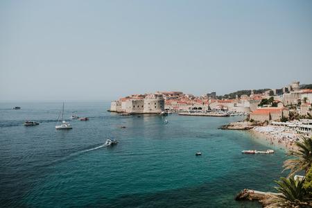 De oude stad van Dubrovnik, Kroatië