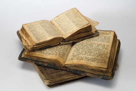 old religious books Stock Photo - 3376116