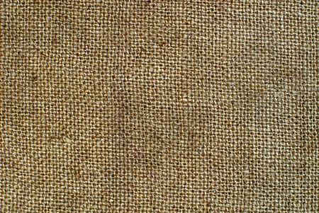 Burlap texture can be very useful for designers purposes Stock Photo - 6047525