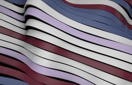 malleable: elastic multicolor waves background