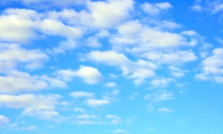 phenomena: summer sky in a sunny day Stock Photo