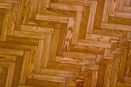nonuniform: The geometrical texture stylised under the wooden structure