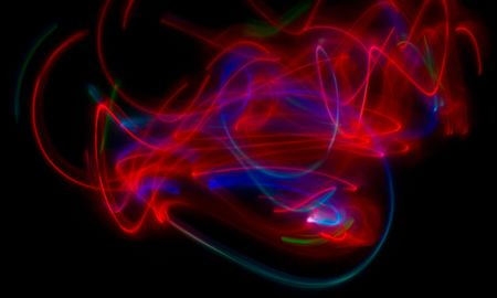 contrasted: Abstract background, obtained with a freezelight photographic style