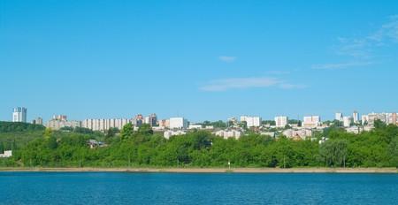 Ufa city, Bashkortostan. Urban landscape