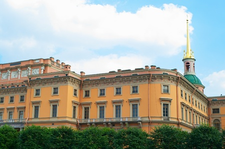 engineer's: St. Michaels Castle also called the Mikhailovsky Castle or the Engineer Castle, is a former royal residence in the historic centre of Saint Petersburg, Russia.