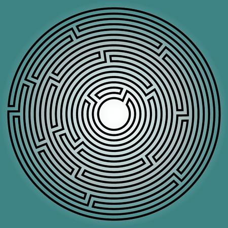 round: Round labyrinth