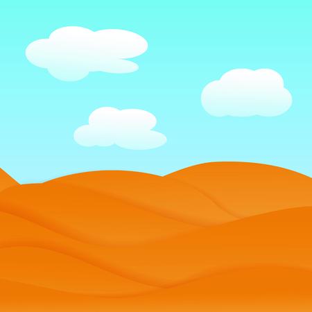 gold coast: Desert on a sunny day