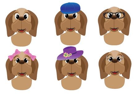 Dog avatars