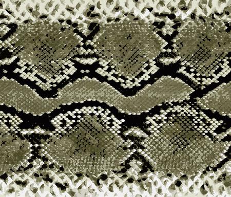 Snake skin gold pattern. Texture snake. Fashionable print. Fashion and stylish background.