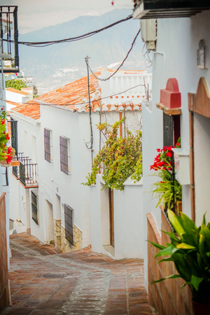 White andalusian houses