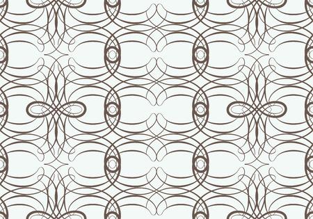weaving: Seamless pattern with weaving circle mesh. Geometric seamless pattern.