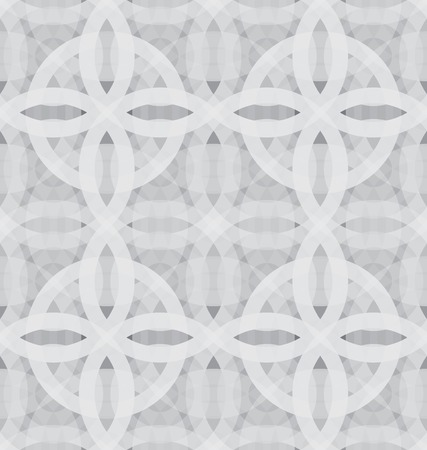 Geometric seamless pattern. Monochrome circle mosaic pattern photo