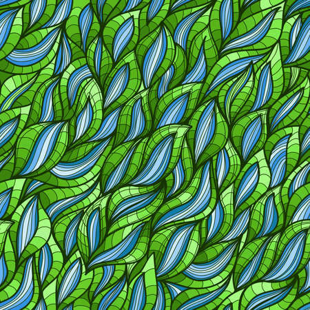 Abstract seamless wave pattern, handmade waves background.Can be used for wallpaper, pattern fills, web page background,surface textures presentations and gifts. For you design.