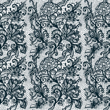 infinitely: Abstract seamless lace pattern with flowers. Infinitely wallpaper, decoration for your design, lingerie and jewelry. Your invitation cards, wallpaper, and more.