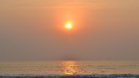konkan: Kashid Beach Sunset, Maharashtra, India