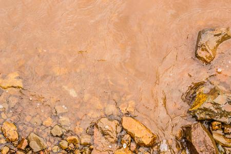 Muddy Water Waves of Panshet Dam, Maharashtra