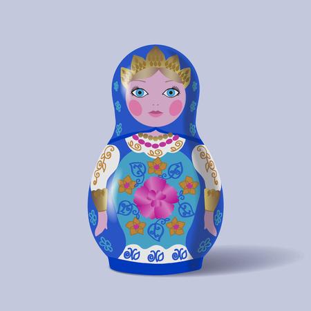 matreshka: Russian dolls.Matryoshka.